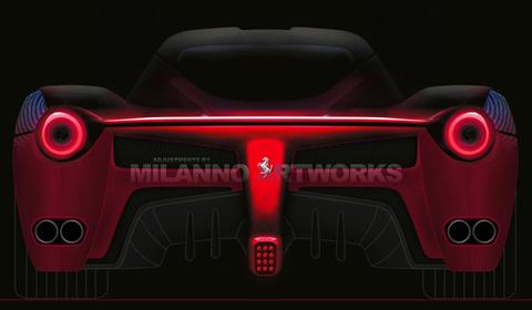 Ferrari F70 rendering by Milanno Artworks