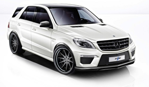 600hp Mercedes-Benz ML 63 AMG Rezonance by RevoZport