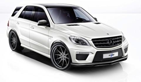 600hp Mercedes-Benz ML 63 AMG Rezonance by RevoZport