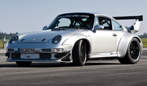 604hp Porsche 993 GT2 Turbo 3.6 Widebody MC600 by Mcchip-dkr