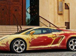 Sandy Lamborghini Gallardo