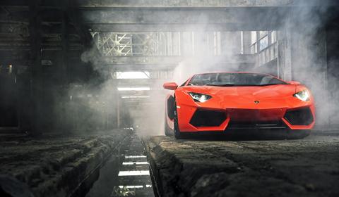 Lamborghini Aventador Argos Orange Photo Of The Day