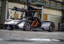 Pagani Huayra Top Gear photoshoot