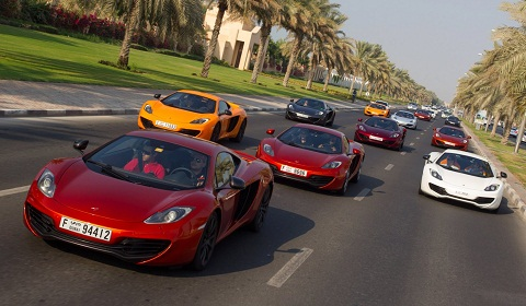 All McLaren 12C Colours