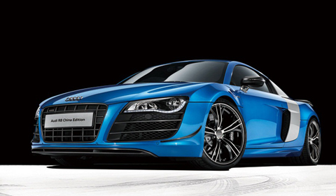 Special Audi R8 China Edition Destined for the People's Republic