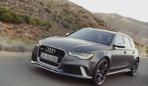 Audi releases first official trailer of 2013 RS6 Avant
