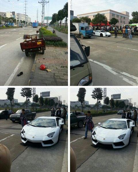 Lamborghini Aventador Crash 01