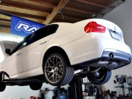 BMS N55 Catless Downpipe and JB4 Installation in a BMW E90 335i