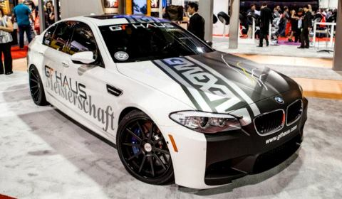 GTHaus BMW F10 M5 with Strasse Forged Wheels