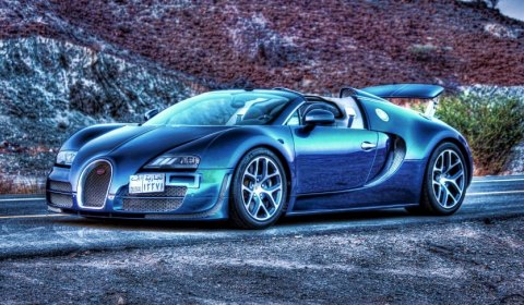 bugatti veyron grand sport vitesse in the hatta mountains dubai gtspirit. Black Bedroom Furniture Sets. Home Design Ideas