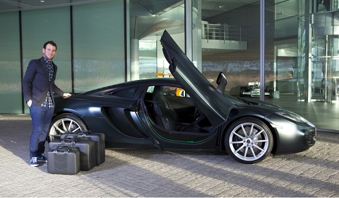 Cavendish Green McLaren MP4-12C