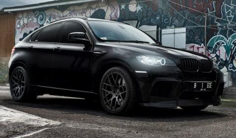 Evil Knight Vorsteiner BMW X6M by Supreme Power