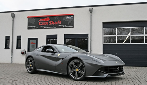 Ferrari F12 Berlinetta by Cam Shaft Premium Wrapping