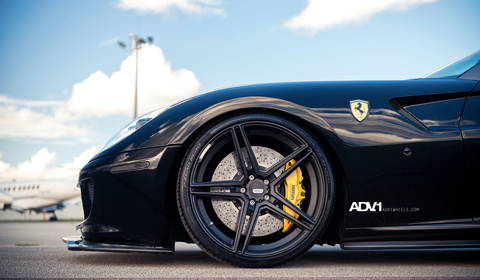 Ferrari 599 on ADV05.1 SL Wheels