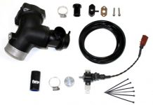 Forge Motorsport High Capacity Piston Valve with Fitting Kit for Audi TTRS and RS3
