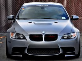 Frozen Gray VF540 Supercharged BMW E92 M3