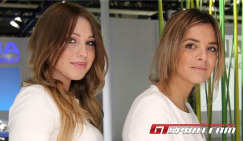 Girls at Bologna Motor Show 2012