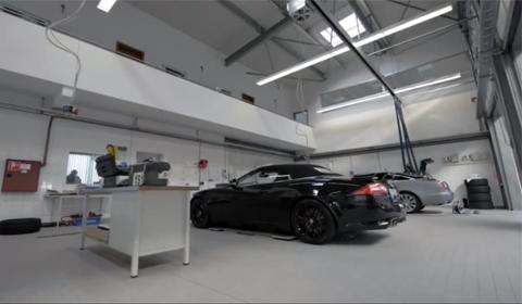 Video Secret Jaguar Test Facility at the Nürburgring 01