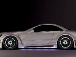 MEC Design Widebody kit for the Mercedes-Benz R230 SL
