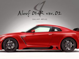 Nissan GT-R Aloof 01-R Version 2 by Abflug