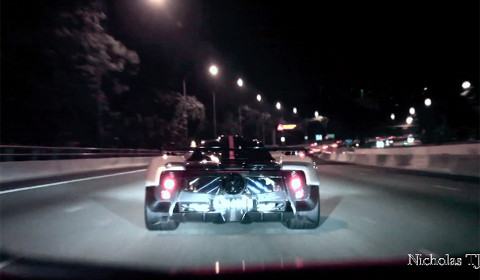 Video Of The Day: Pagani Zonda Cinque in Singapore