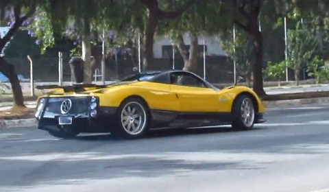 Pagani Zonda F Clubsport Joy Ride