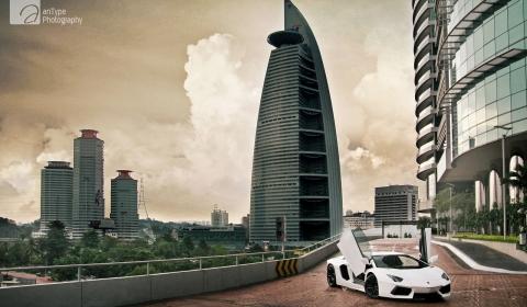 Photo Of The Day 2012 Lamborghini Aventador LP700-4 in Kuala Lumpur