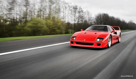 Photo Of The Day Ferrari F40 in Holland