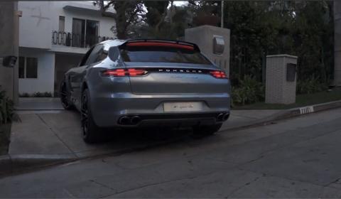 Porsche Panamera Sport Turismo Driving Debut