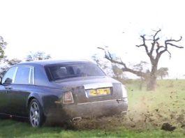 Rolls Royce Phantom rally car