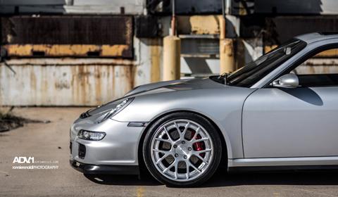 Porsche 997S on ADV.1 wheels