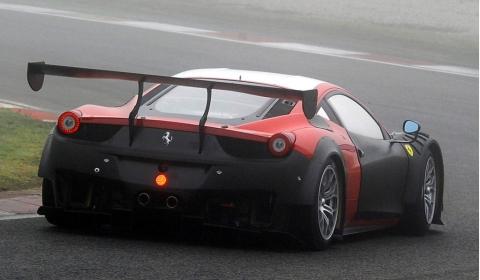 Spyshots 2013 Ferrari 458 GT3 Spotted Testing 02