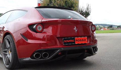 Novitec Rosso Ferrari FF Exhaust Note