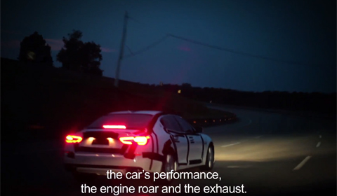 Video: Maserati Testing the new Quattroporte
