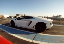 Lamborghini Aventador vs Twin-Turbo Audi R8 V10 by Heffner