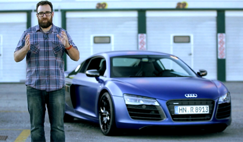 Motor Trend Drives the new 2013 Audi R8