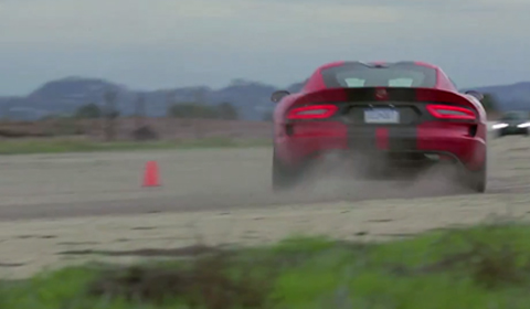 Motor Trend Tests the new 2013 SRT Viper GTS