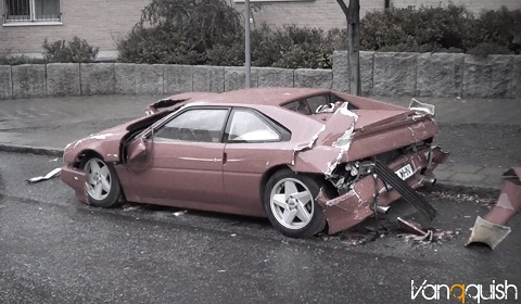 Venturi 210 Wrecked