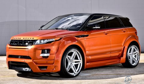 Vesuvius Orange Range Rover Evoque by Ultimate Auto