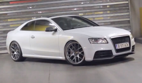 Video Audi RS5 with Inconel Exhaust System by Kline Innovation