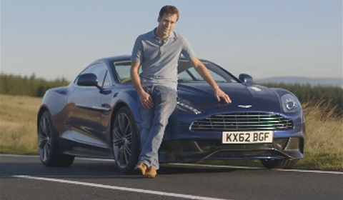 Video CAR Drives New Aston Martin Vanquish in North Wales