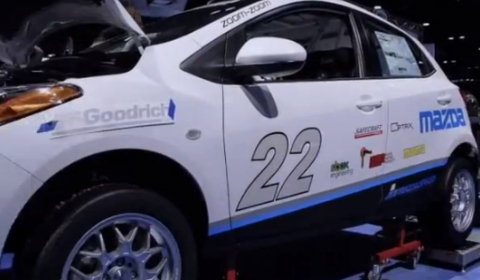 Video Mazda2 Transformed From Stock to Racecar in 25 Hours