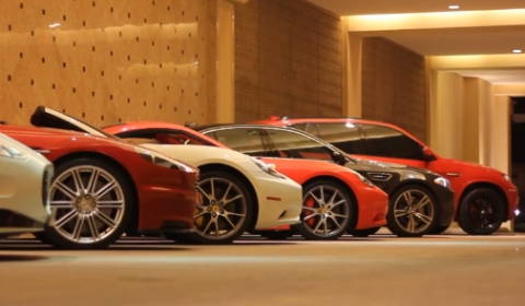 Video Qatar Supercar Gathering on 13th of December