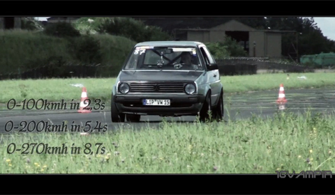 World's Fastest VW Golf