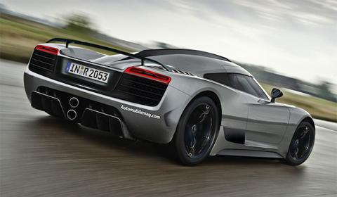 Audi R20 Rendering