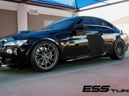 Blacked-Out BMW M3 on HRE P43SC Wheels