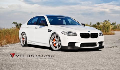 2013 BMW F10 M3 on HRE Wheels by Velos Designwerks