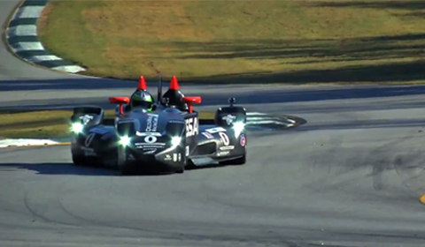 Nissan DeltaWing driven by Chris Harris