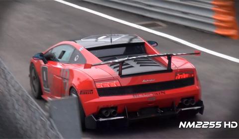 Video: Lamborghini Gallardo SuperTrofeo Full Throttle Accelerations