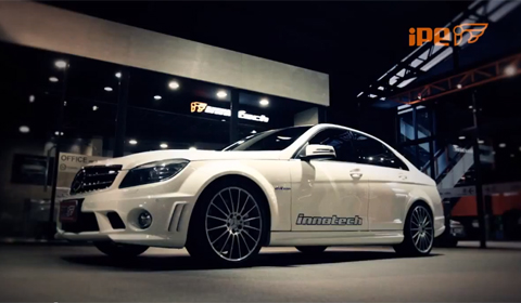 iPE Innotech exhaust system for C63 AMG